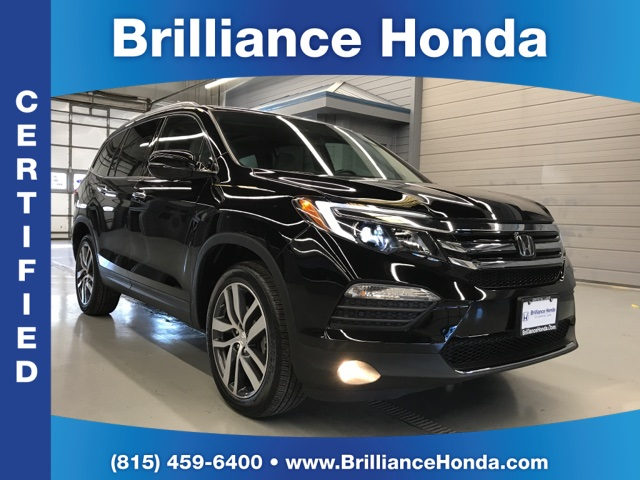 Certified Pre Owned 2017 Honda Pilot Elite 4d Sport Utility In